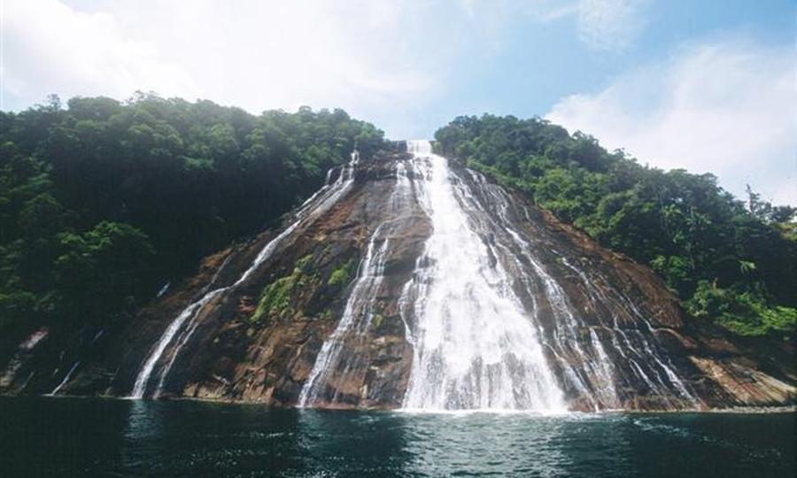 Air Terjun Mursala wisata air terjun terindah di Indonesia