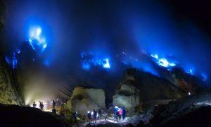 Kawah Ijen, tempat wisata alam terindah di Indonesia