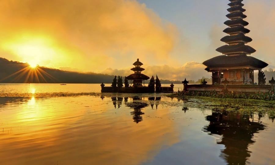 Matahari sore di Bali