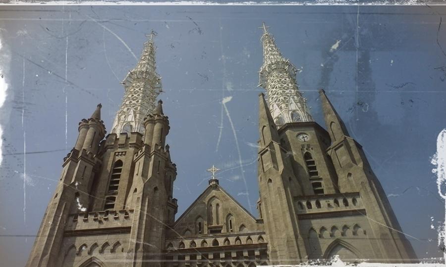 Gereja Katedral Jakarta tempat bersejarah di Indonesia