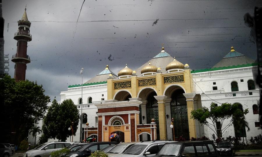 Masjid Agung Palembang tempat bersejarah di Indonesia