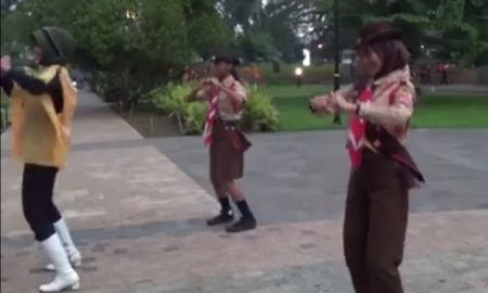 Dansa kreatif tanpa manja, Riny Kusumawati