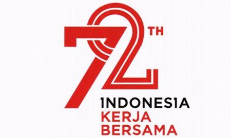 Logo 72 Tahun Indonesia Merdeka, HUT RI ke-72
