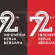 Logo 72 Tahun Indonesia Merdeka