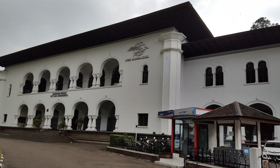 Kantor Pos di Gedung Sate Bandung