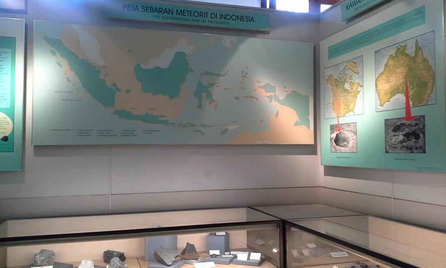 Koleksi Batu di Museum Geologi Bandung