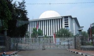 Pagar Pintu Masjid Istiqlal