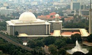 Kubah Masjid Istiqlal