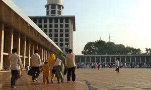 Bahagia Jamaah Masjid Istiqlal