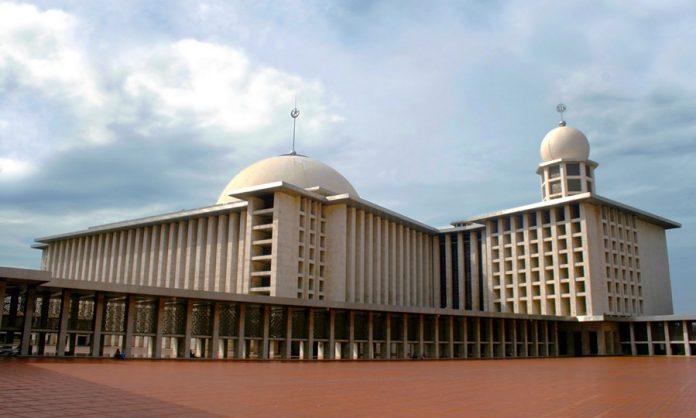 Sudut terbaik Masjid Istiqlal Indonesia