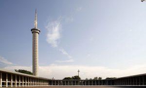 Menara Masjid Istiqlal Jakarta