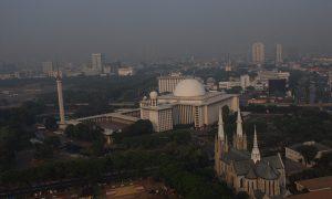 Damai Indonesia Masjid Istiqlal dan Gerja Katedral