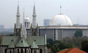 Sengaja dirancang berdambingan Masjid Istiqlal dan Gerja Katedral