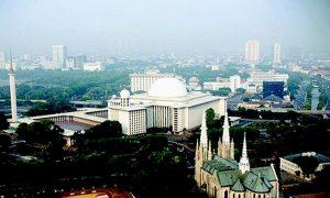 Masjid Istiqlal dan Gerja Katedral Damai Indonesia