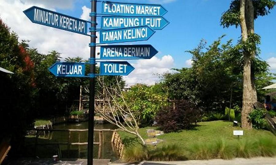 Petunjuk Arah Floating Market Lembang