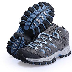 Sepatu Gunung Wanita tali biru