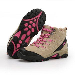 Sepatu Gunung Wanita coklat pink