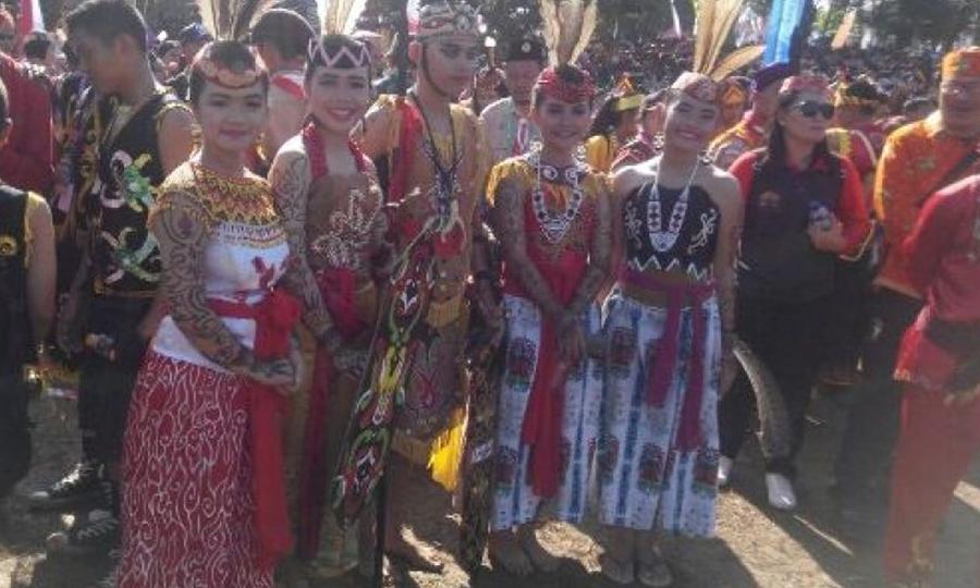 Karnaval Busana Daerah, Raimuna Nasional Gerakan Pramuka