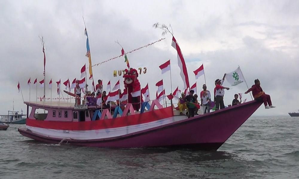 Konvoi Kapal Dirgahayu Republik Indonesia