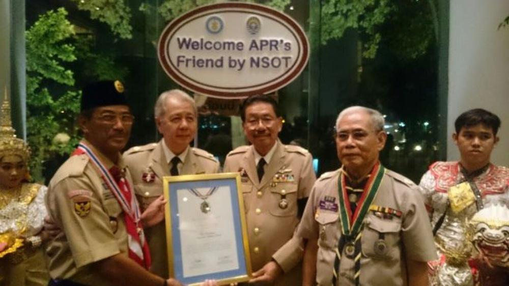 The Friendship Award dari NSO Thailand