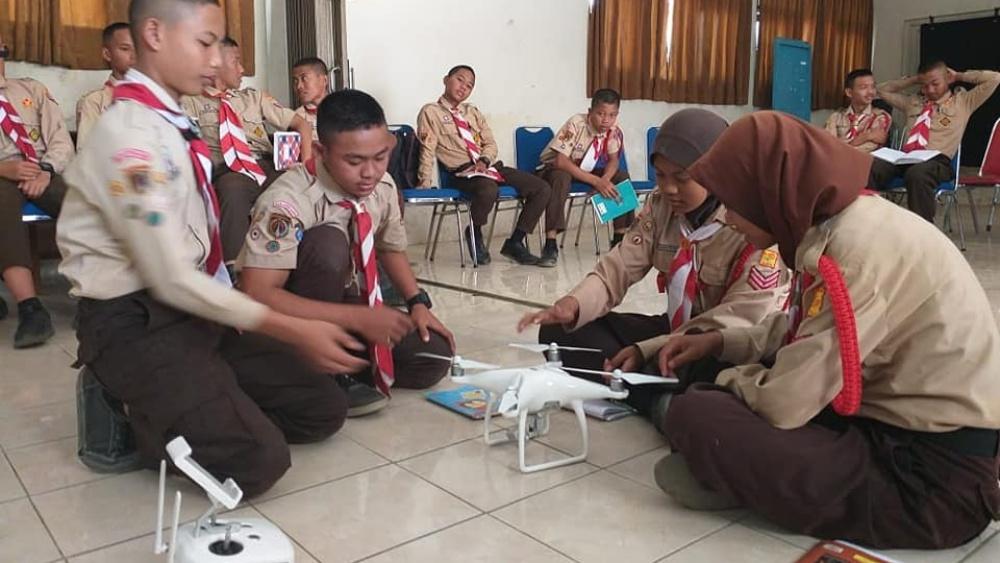 drone-pramuka-banjarnegara