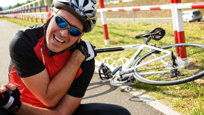 kecelakaan bersepeda cedera