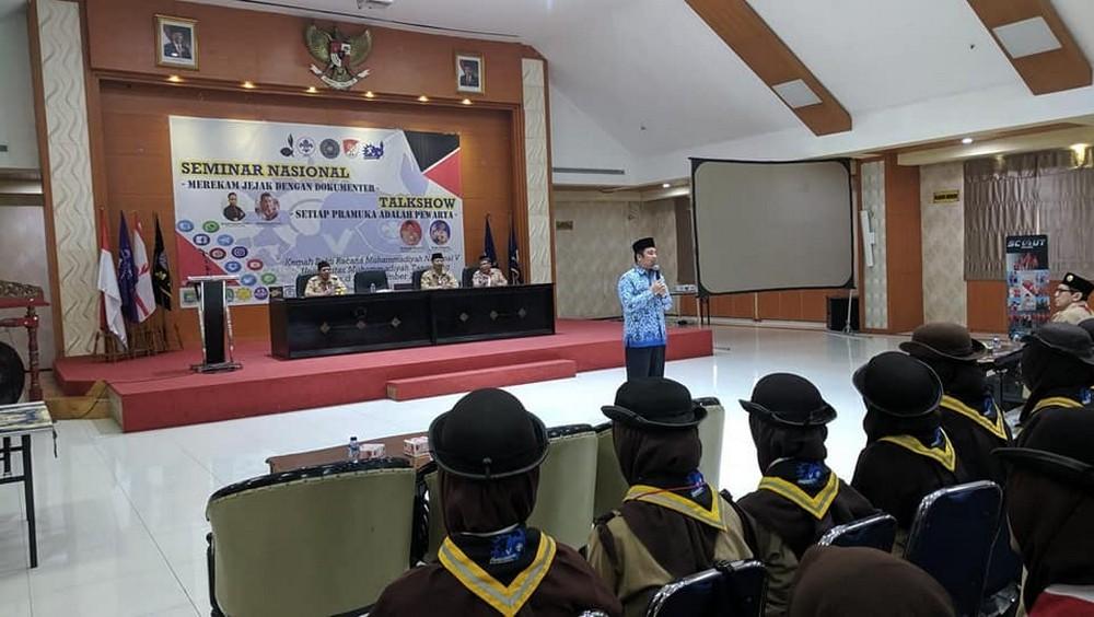 Wali Kota Tangerang berbicara untuk Pramuka